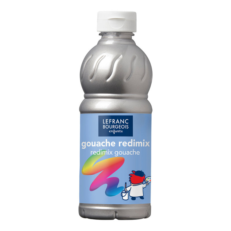 Skolfärg Redimix L&B 500ml Silver 710 (10F)