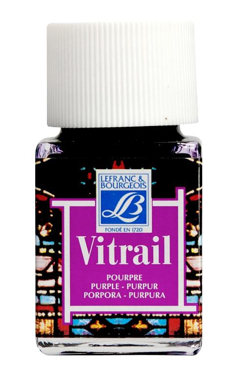 Glasfärg L&B Vitrail 50ml purple