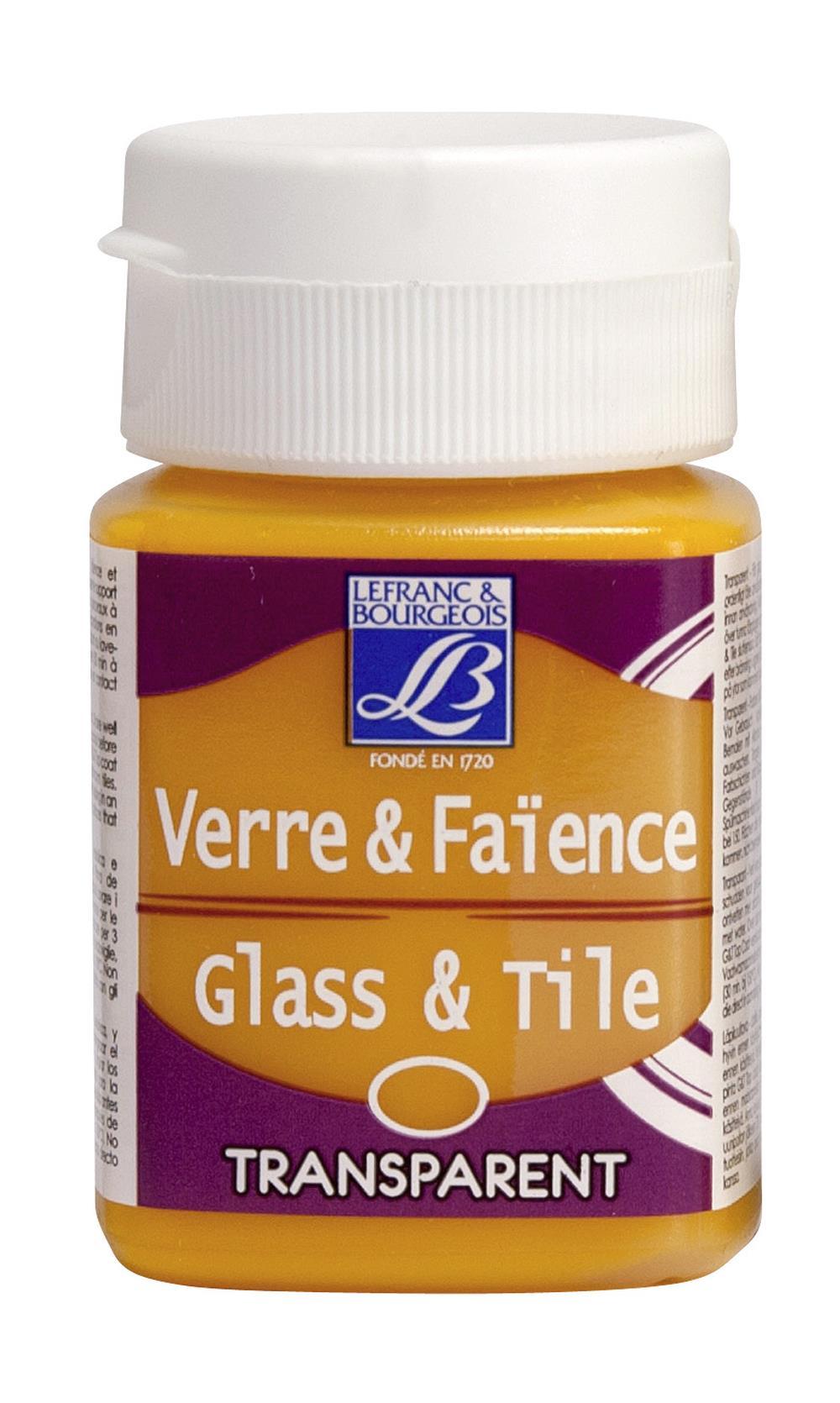 Glas- & keramikfärg L&B 50ml  Guldgul, transparent 144 (4F) Utgår
