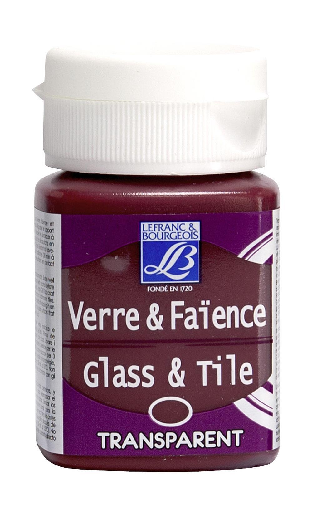 Glas- & keramikfärg L&B 50ml  Julröd, transparent 388 (4F) Utgår
