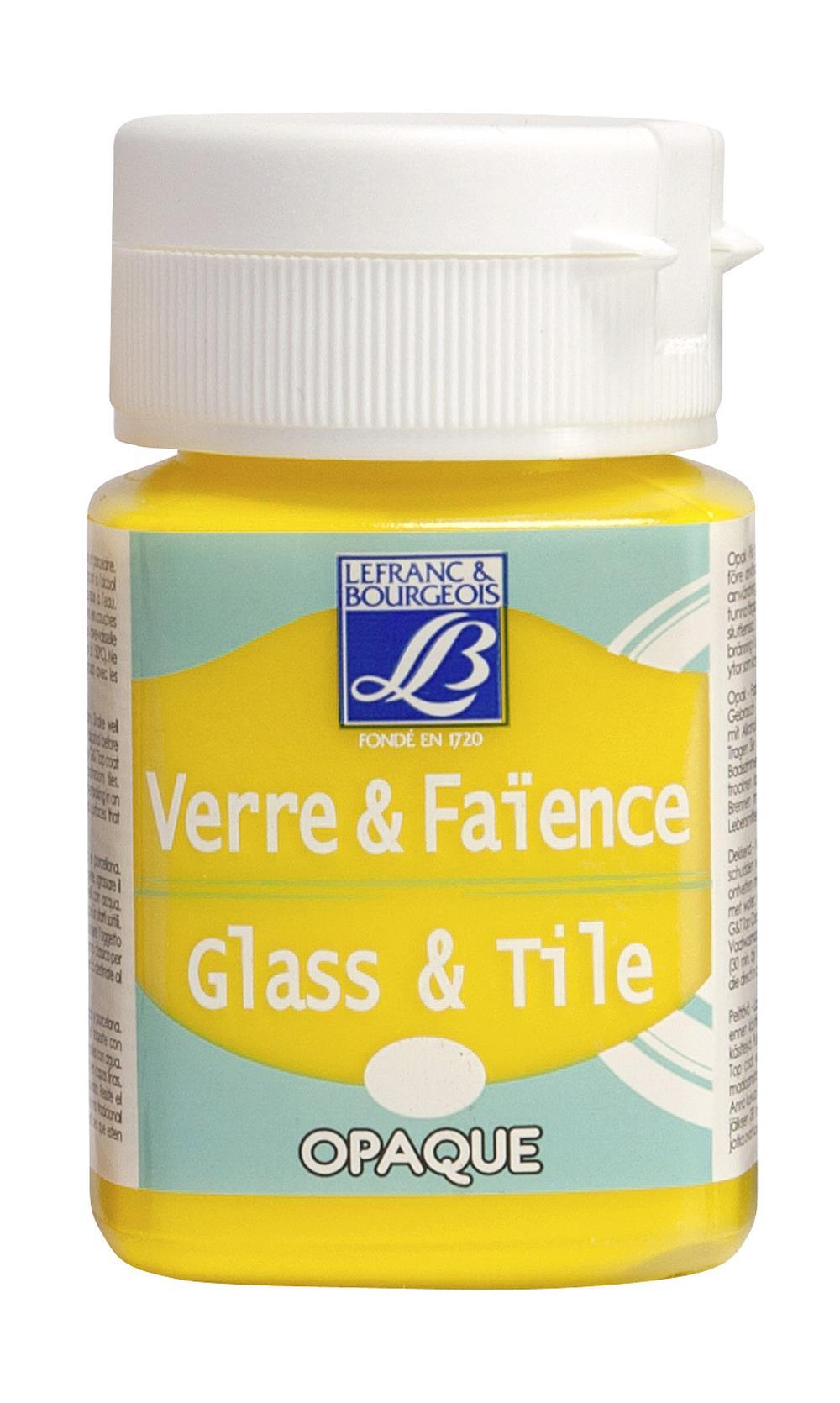 Glas- & keramikfärg L&B 50ml  Klargul, opak 143 (4F) Utgår