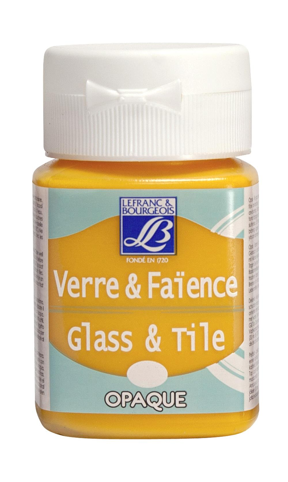 Glas- & keramikfärg L&B 50ml  Brandgul, opak 142 (4F) Utgår
