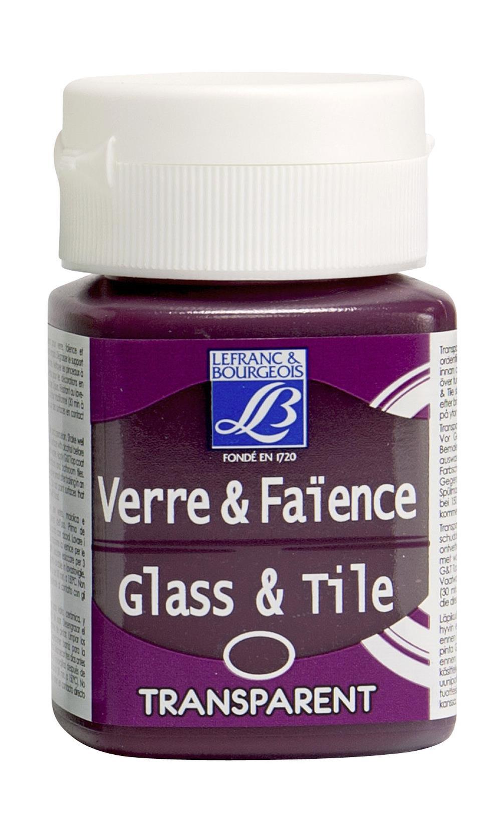 Glas- & keramikfärg L&B 50ml  Cerisrosa, opak 407 (4F) Utgår