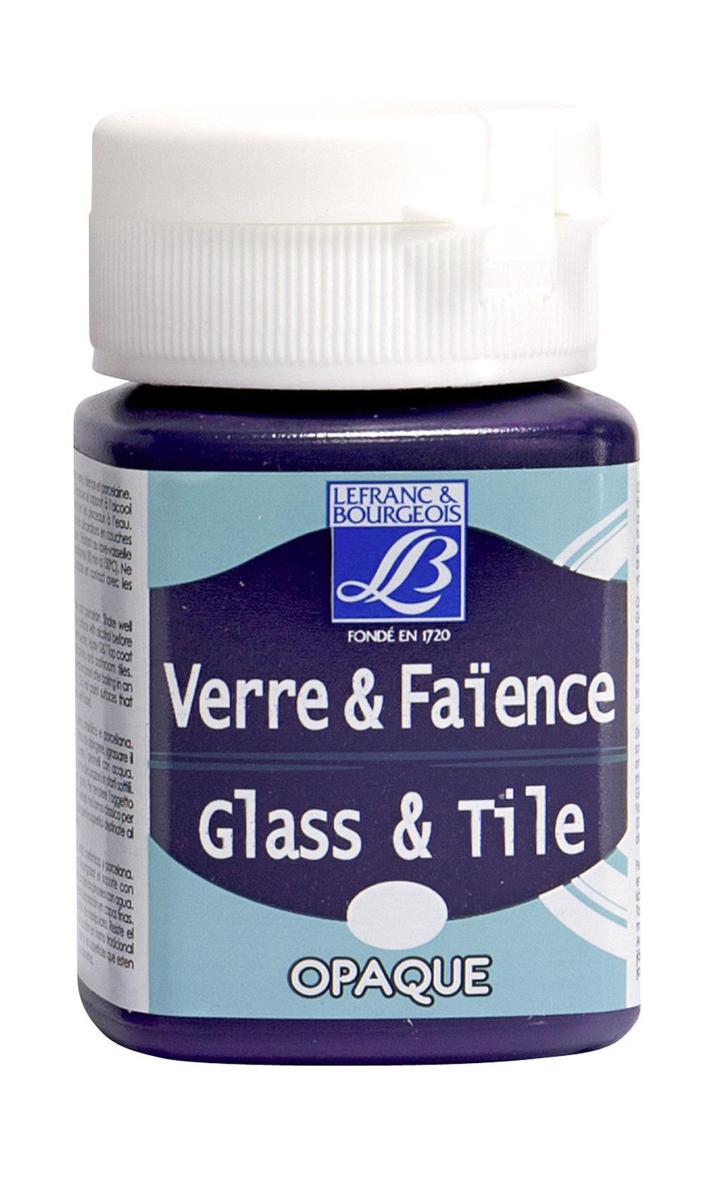 Glas- & keramikfärg L&B 50ml  Lila, opak 643 (4F) Utgår