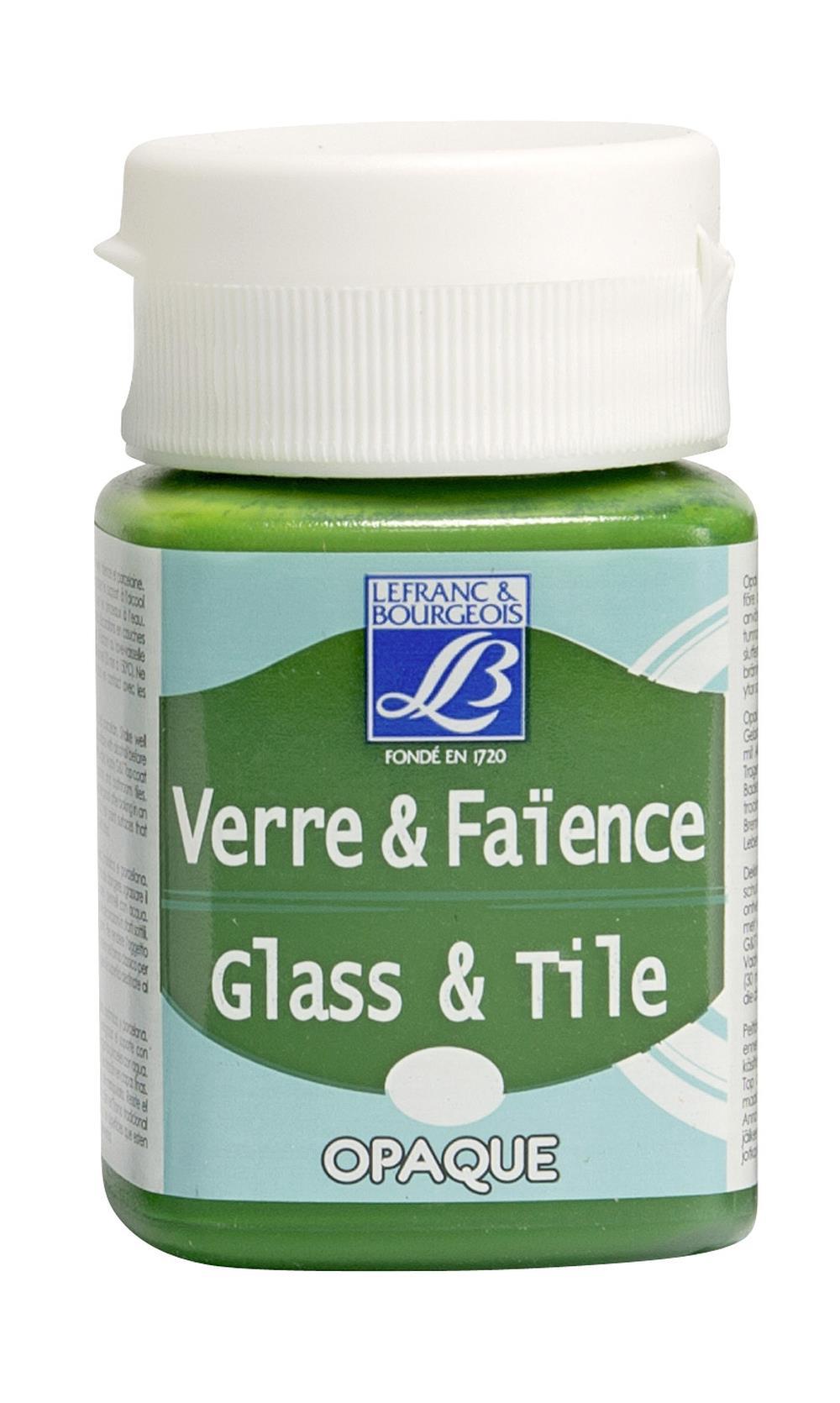 Glas- & keramikfärg L&B 50ml  Skogsgrön, opak 498 (4F) Utgår