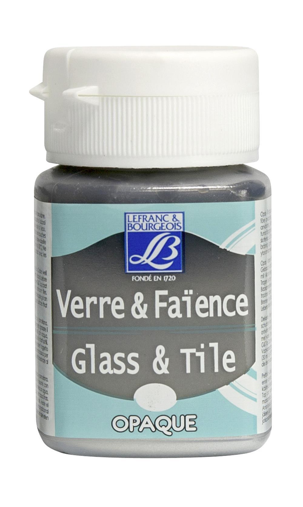 Glas- & keramikfärg L&B 50ml  Silver, opak 710 (4F) Utgår