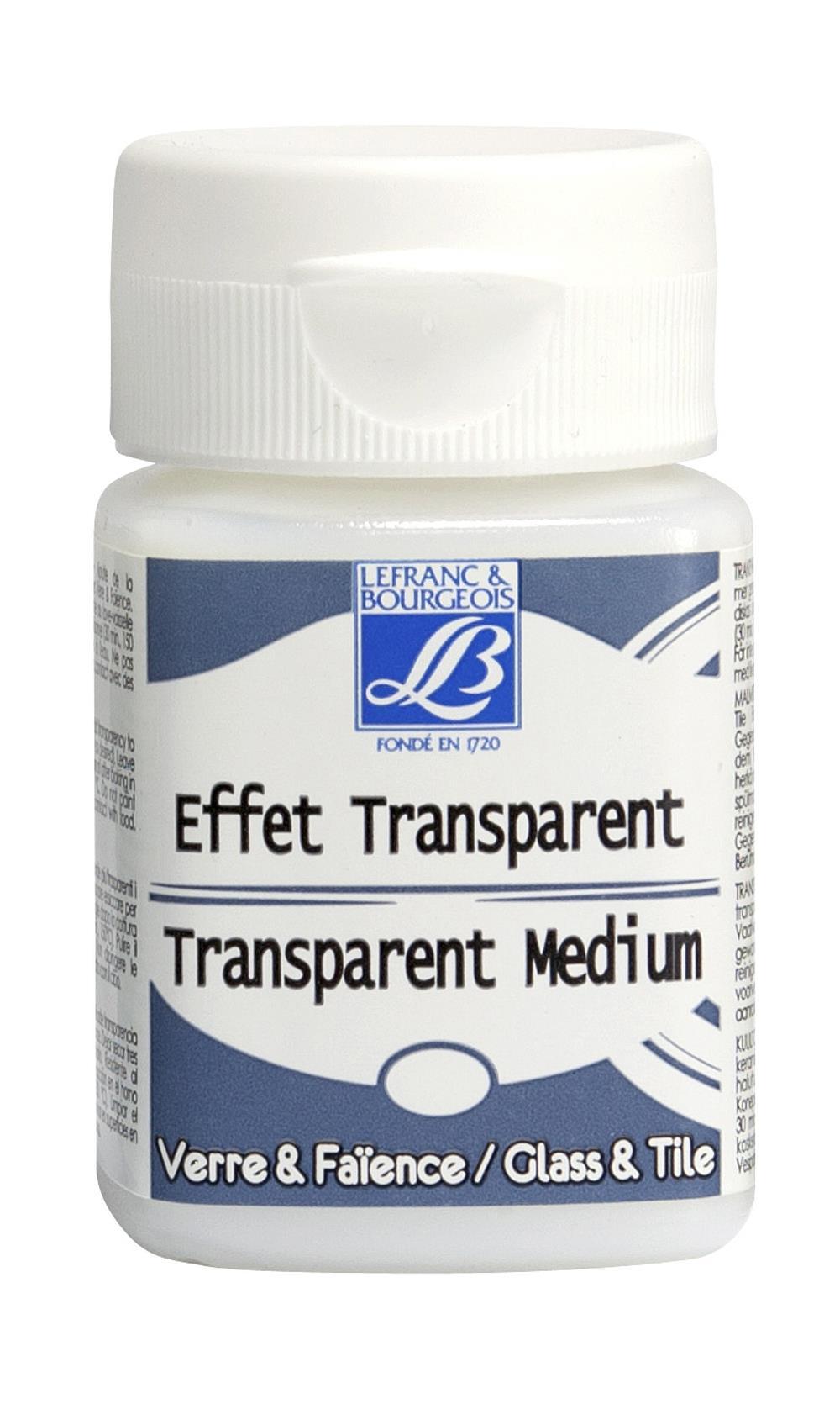 Hobbymedium L&B Deco Genomskinligt medium  50 ml (4F)