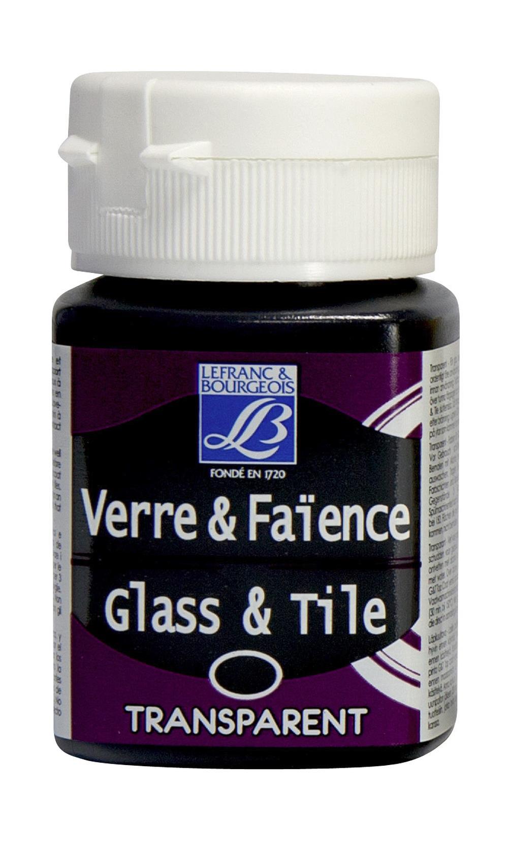 Glas- & keramikfärg L&B 50ml  Choklad, transparent  112 (4F) Utgår