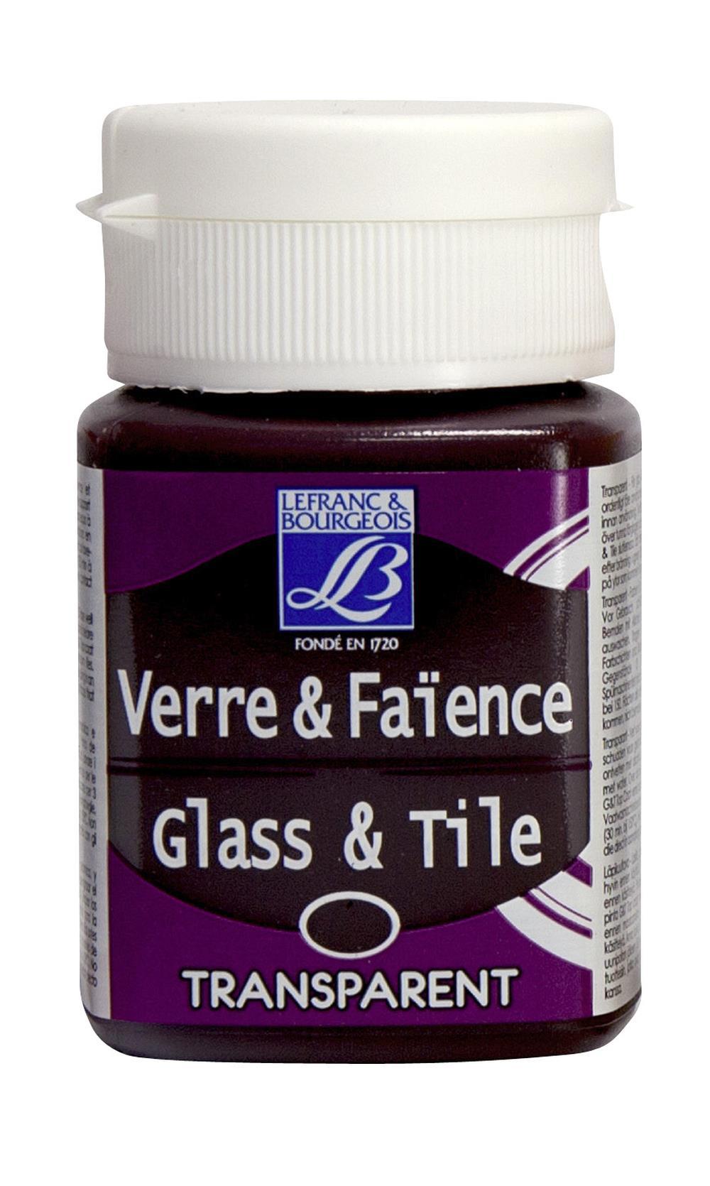 Glas- & keramikfärg L&B 50ml  Kinaröd, transparent  368 (4F) Utgår