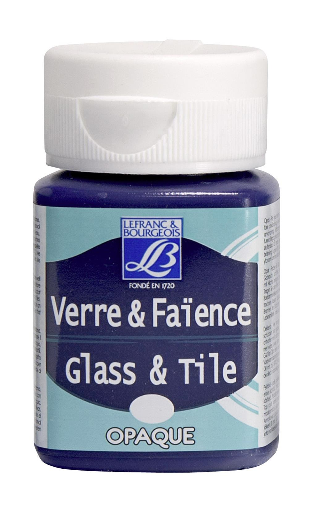 Glas- & keramikfärg L&B 50ml  Faraolila, opak 610 (4F) Utgår