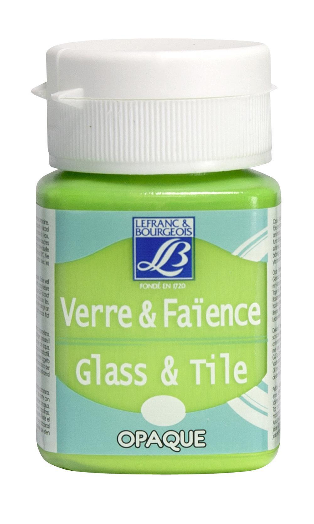 Glas- & keramikfärg L&B 50ml  Grön, opak  556 (4F) Utgår
