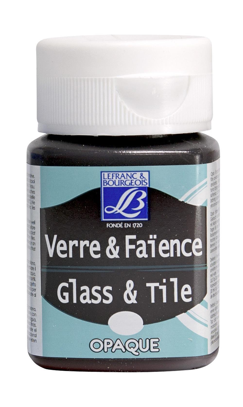 Glas- & keramikfärg L&B 50ml  Ljus brungrå, opak  108 (4F) Utgår