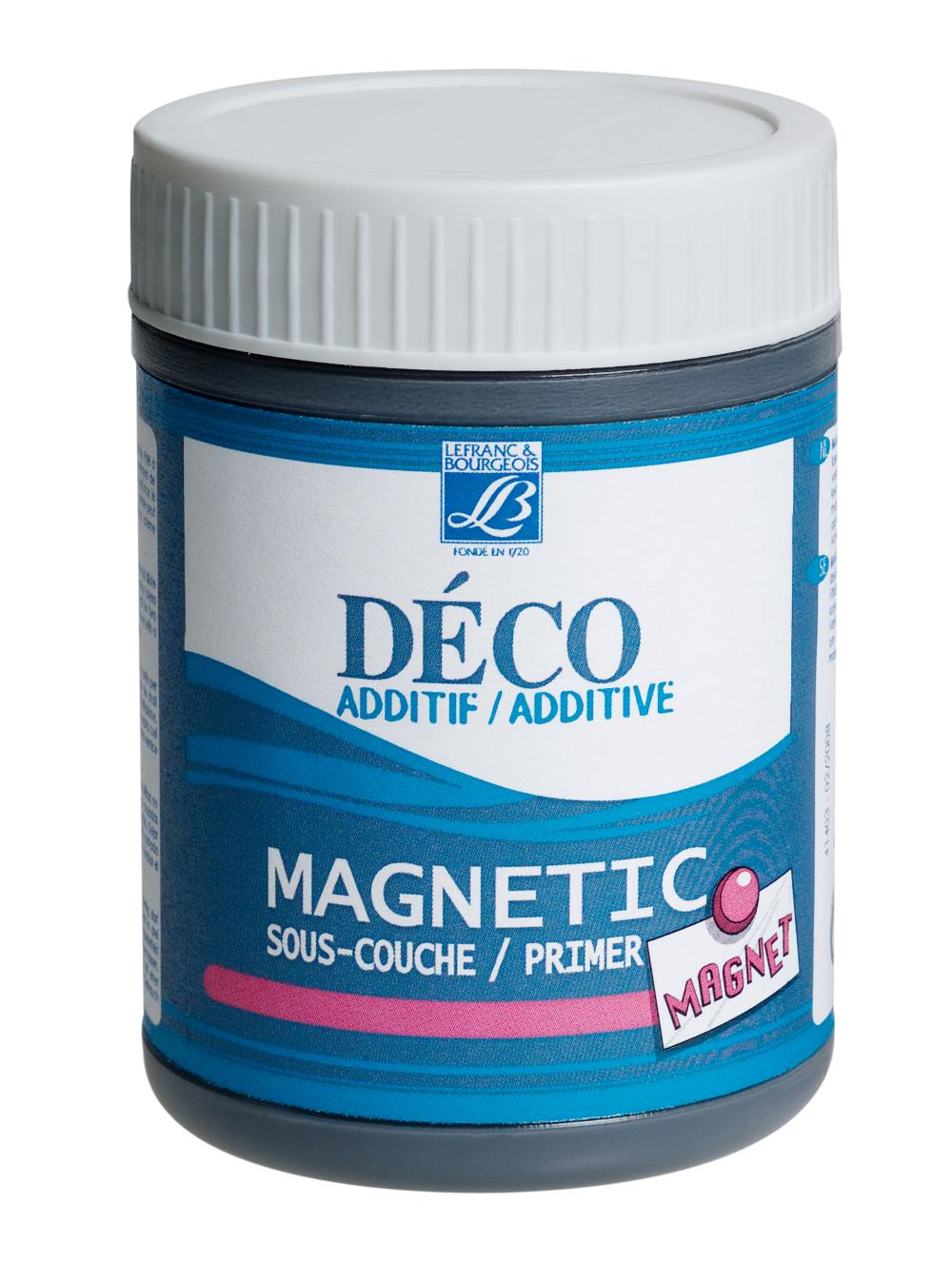 Hobbymedium L&B Deco Magnetisk grundering 230 ml burk