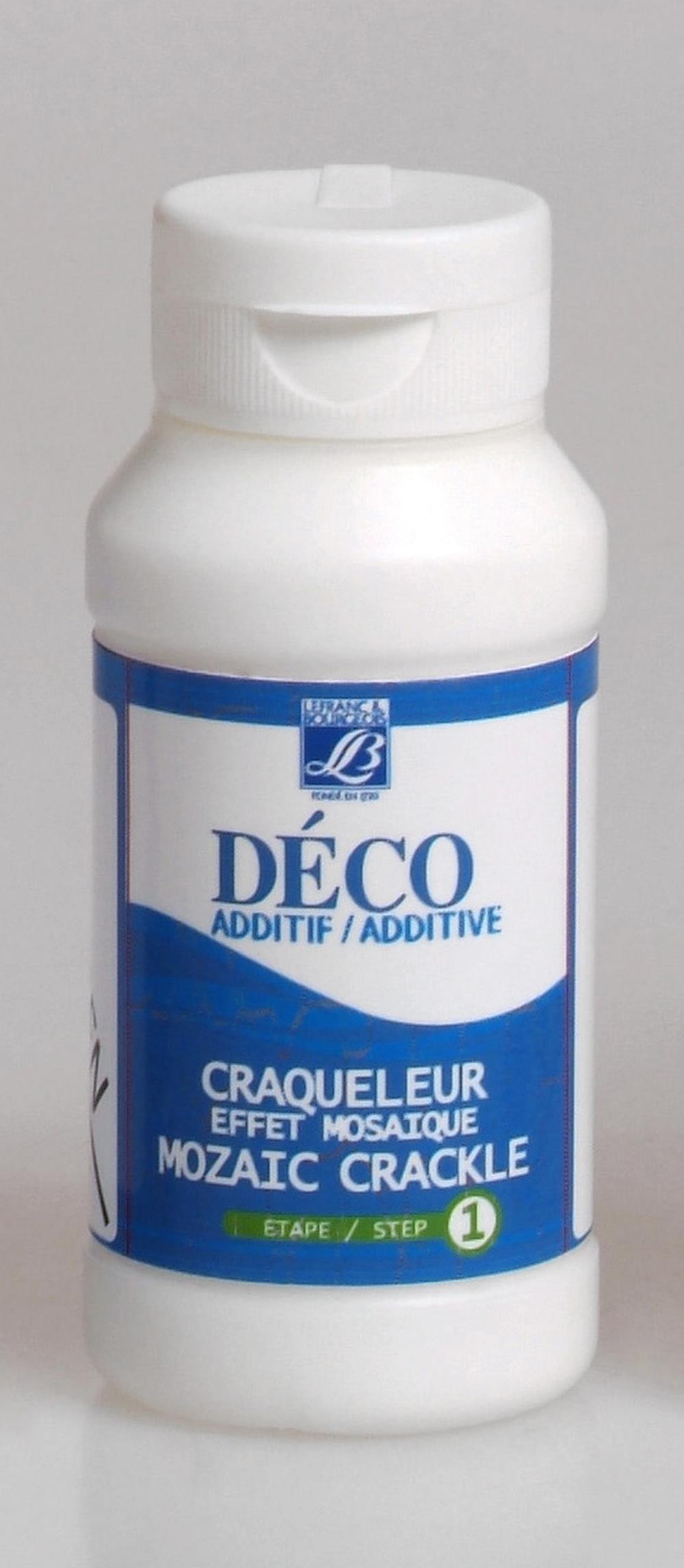 Hobbymedium L&B Deco Mosaik-krackelering steg 1, 120 ml Utgår