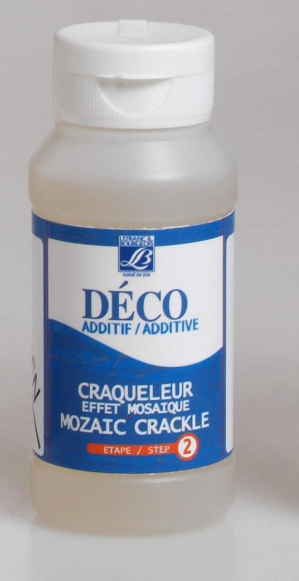 Hobbymedium L&B Deco Mosaik-krackelering steg 2, 120 ml Utgår