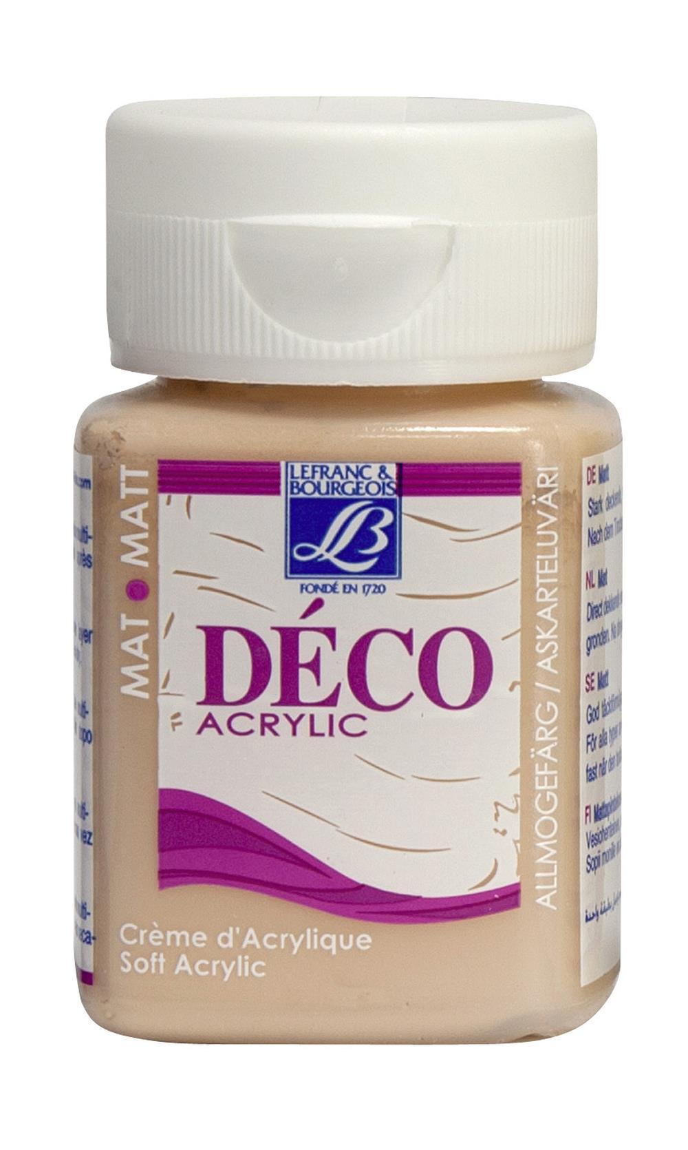 Hobbyfärg L&B Deco Matt Akryl 50ml Mango warm 884 (4F)