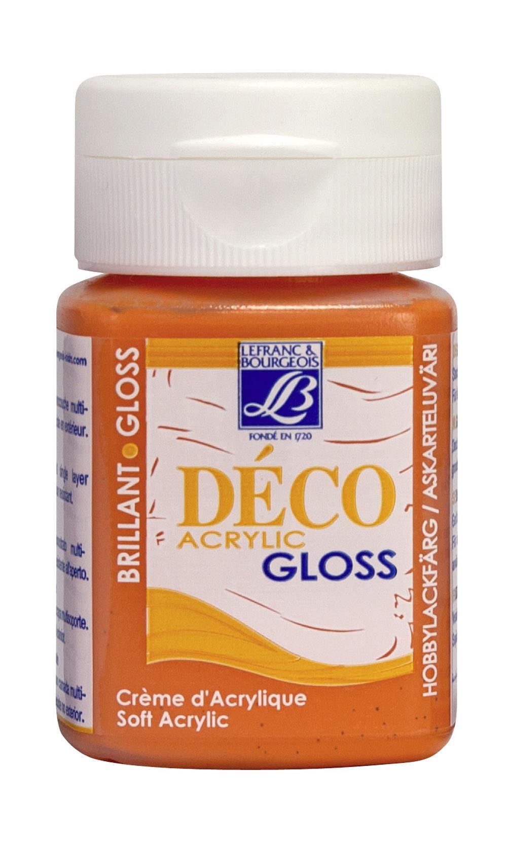 Hobbyfärg L&B Deco Gloss Akryl 50ml  Coral 332 (4F) Utgår