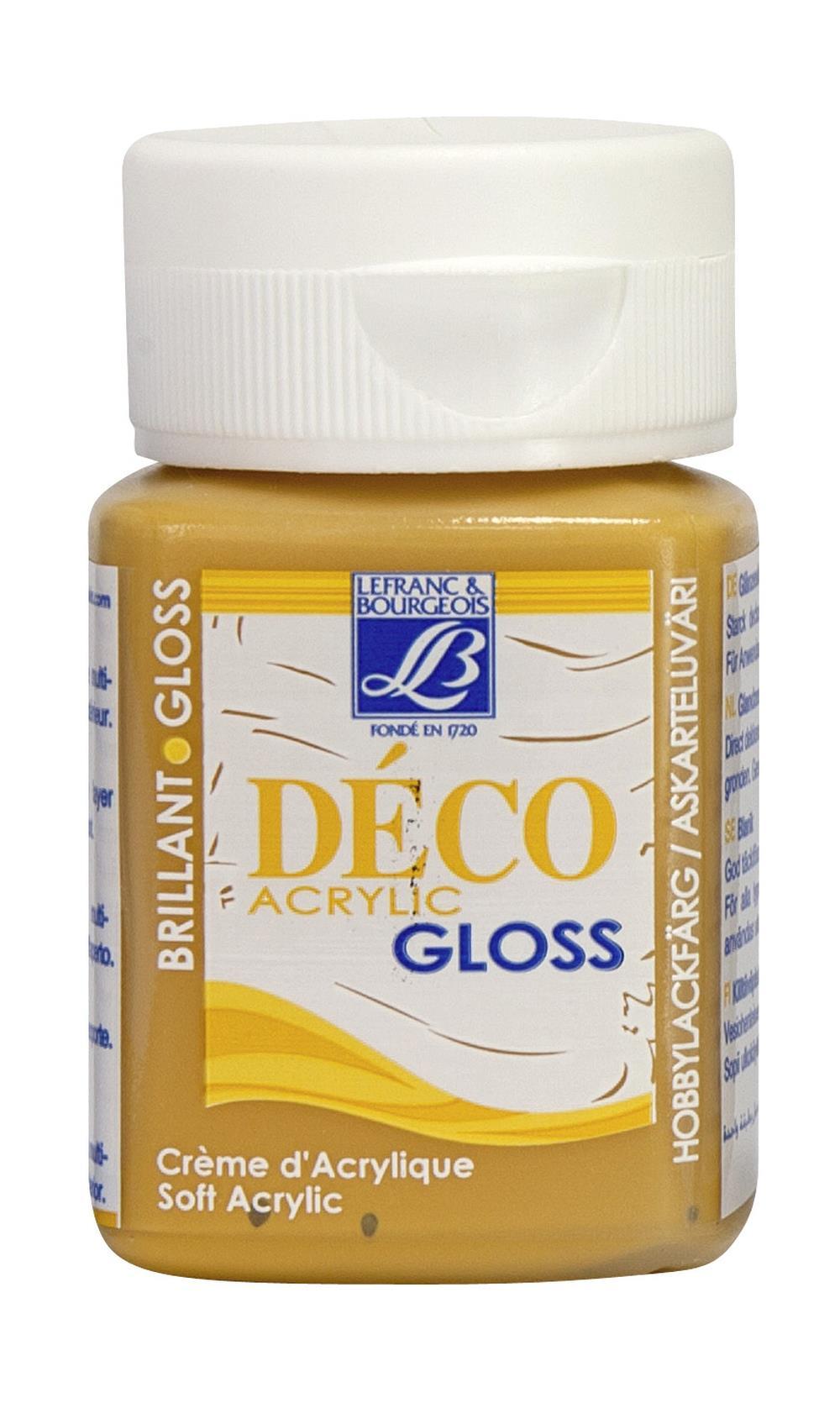 Hobbyfärg L&B Deco Gloss Akryl 50ml  Caramel 118 (4F) Utgår