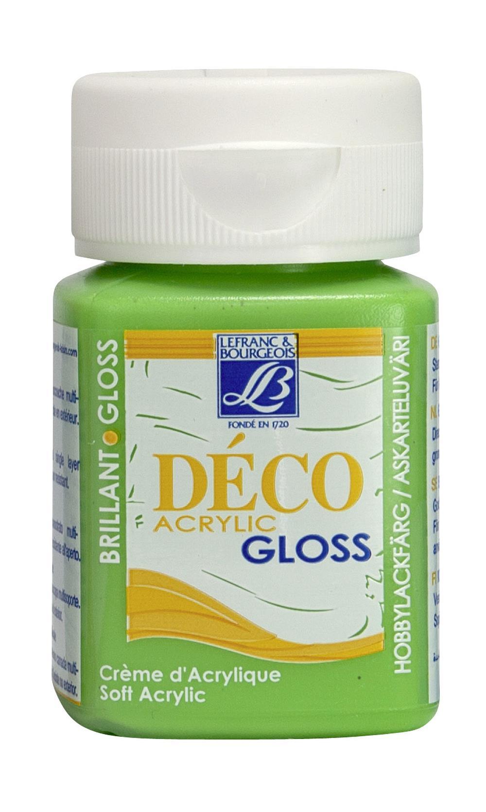 Hobbyfärg L&B Deco Gloss Akryl 50ml  Hazelnut 486 (4F) Utgår