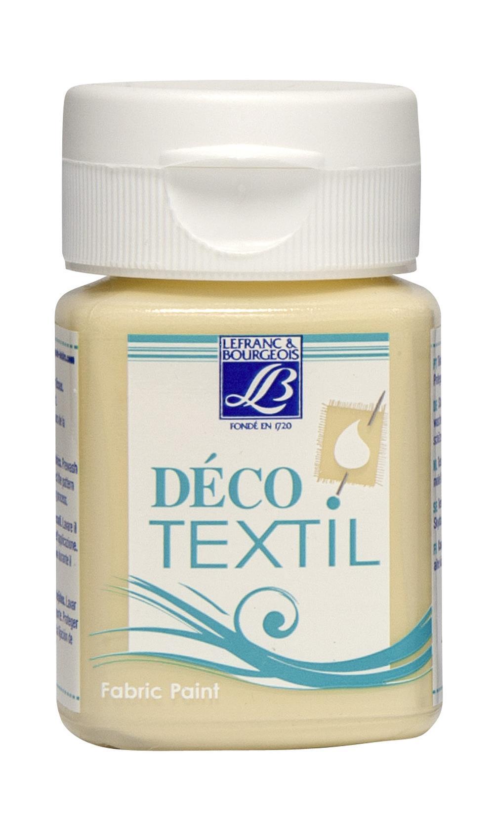 Tygfärg L&B Deco Textil 50ml  Milk cream -  soft 872 (4F) Utgår