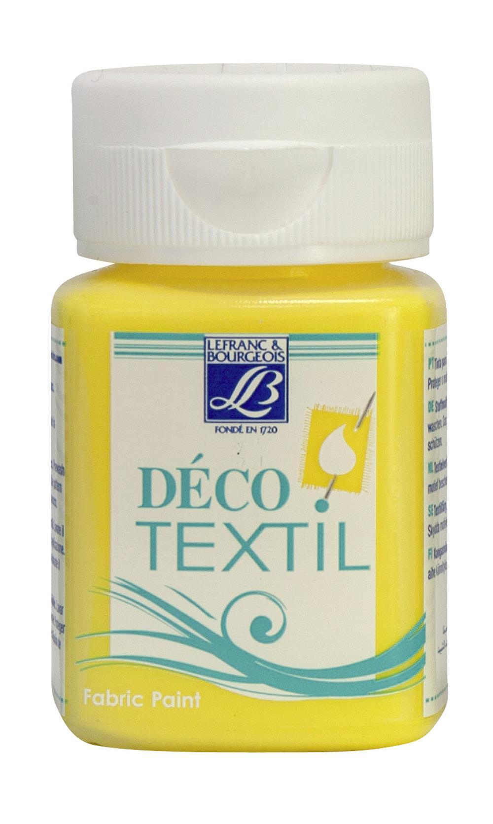 Tygfärg L&B Deco Textil 50ml  Daffodil - intensive 172 (4F) Utgår