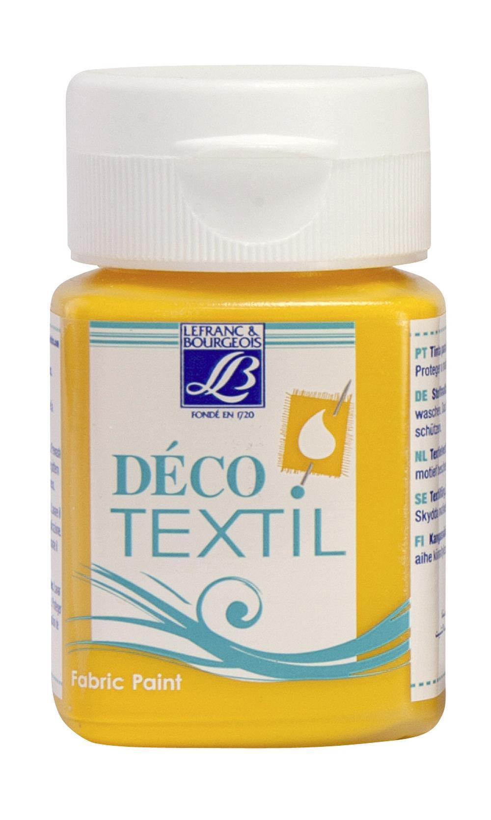 Tygfärg L&B Deco Textil 50ml  Sunflower - intensive 200 (4F) Utgår