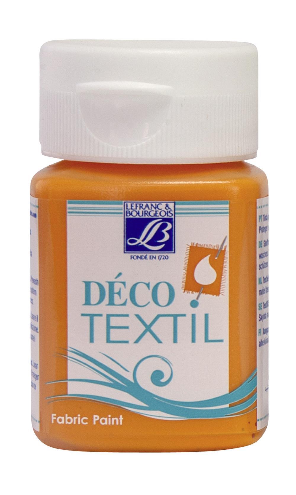 Tygfärg L&B Deco Textil 50ml  Tangerine - warm 221 (4F) Utgår