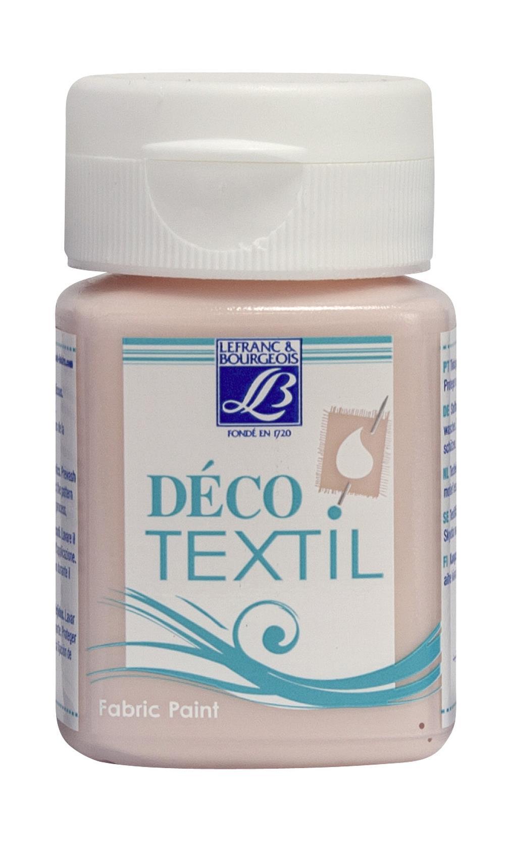Tygfärg L&B Deco Textil 50ml  Tender pink -  soft 317 (4F) utgår