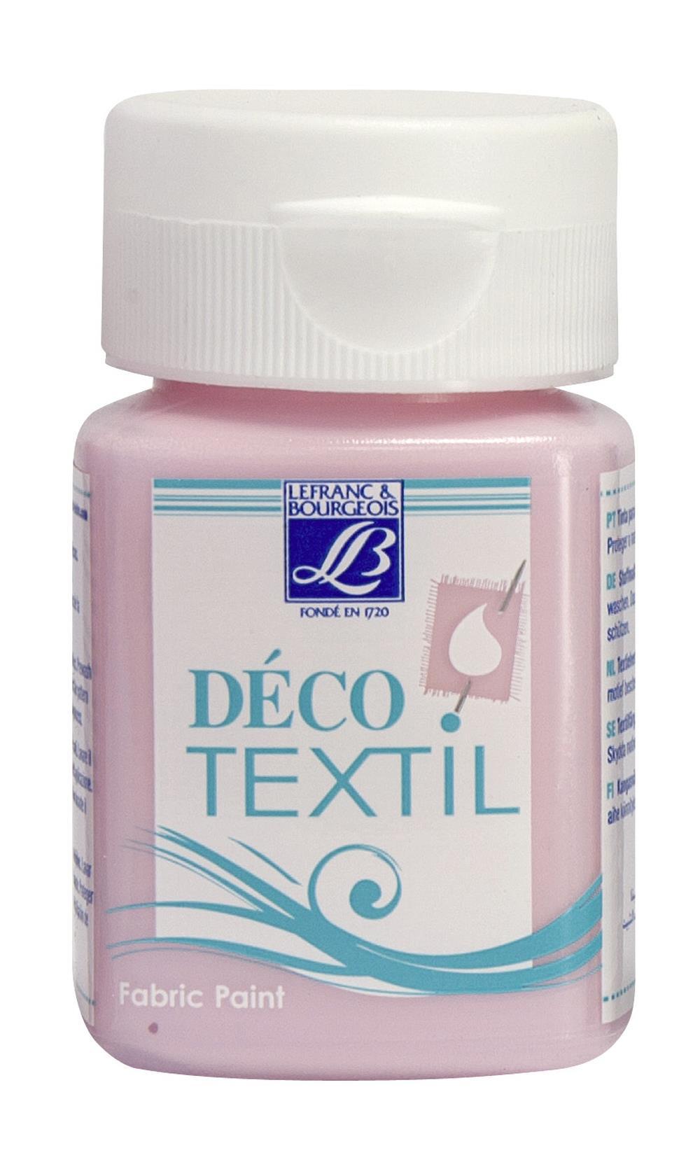 Tygfärg L&B Deco Textil 50ml  Wedding pink - intensive 316 (4F) Utgår