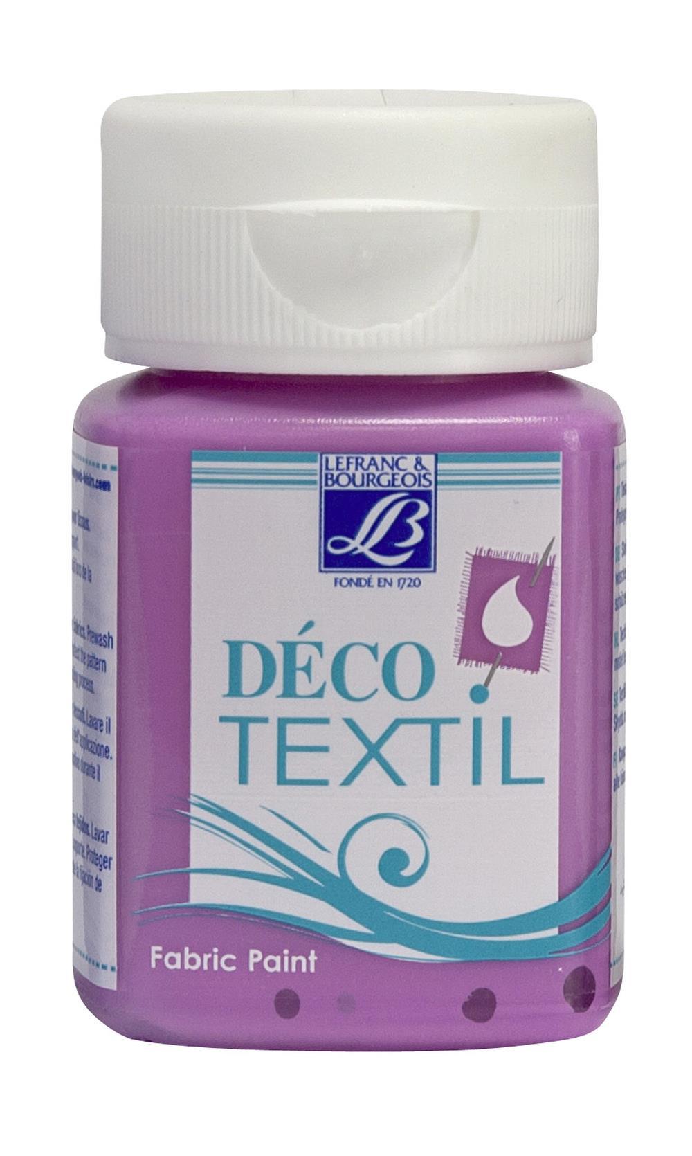 Tygfärg L&B Deco Textil 50ml  Rose petal - intensive 455 (4F) Utgår