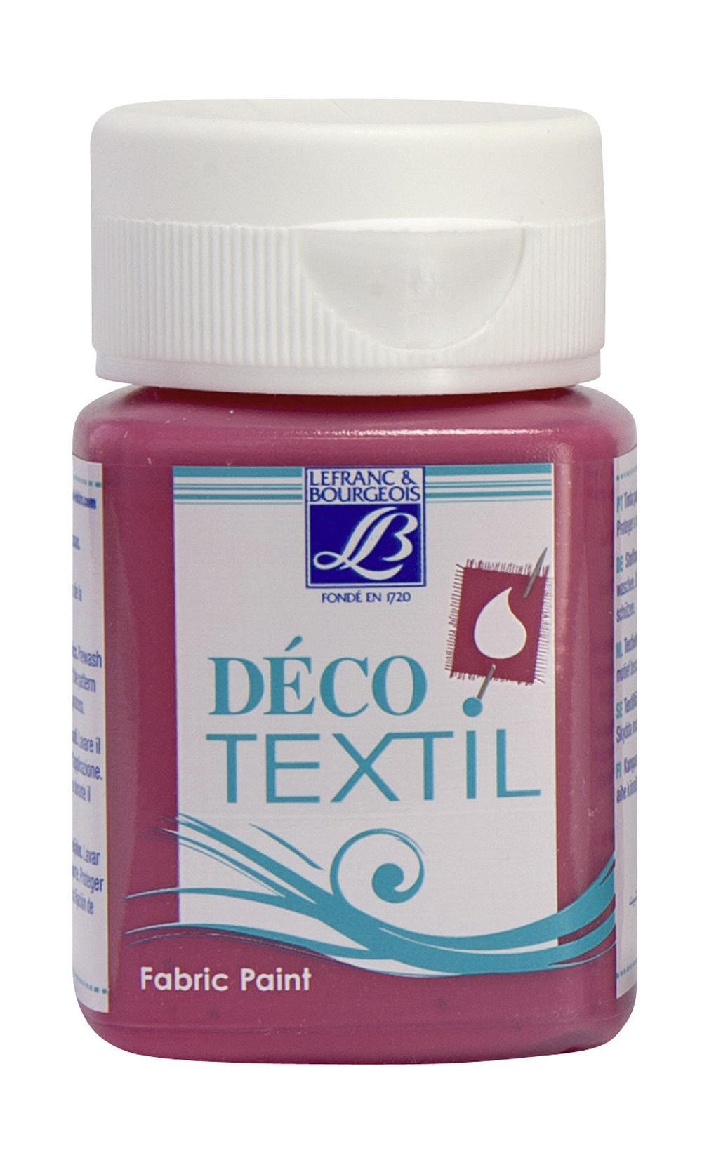 Tygfärg L&B Deco Textil 50ml  Fuchsia - intensive 443 (4F) Utgår