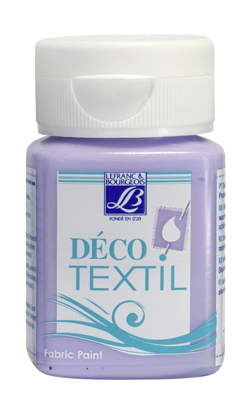 Tygfärg L&B Deco Textil 50ml  Violet -  soft 602 (4F) Utgår