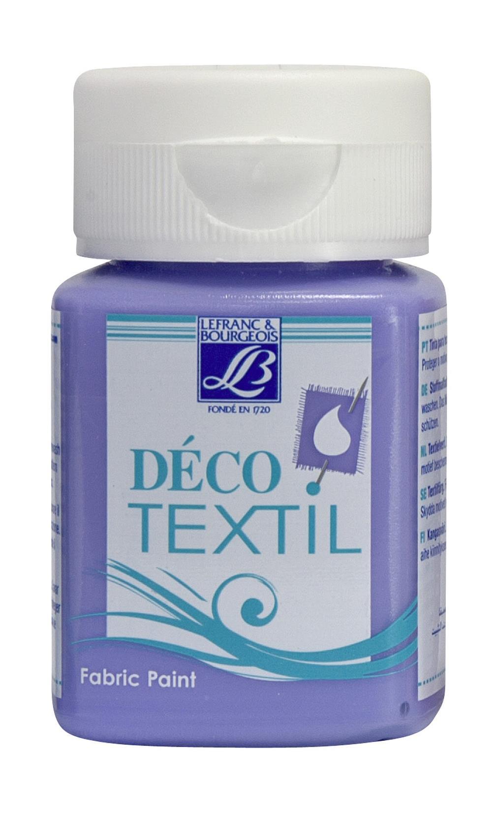 Tygfärg L&B Deco Textil 50ml  Lavender - intensive 802 (4F) Utgår