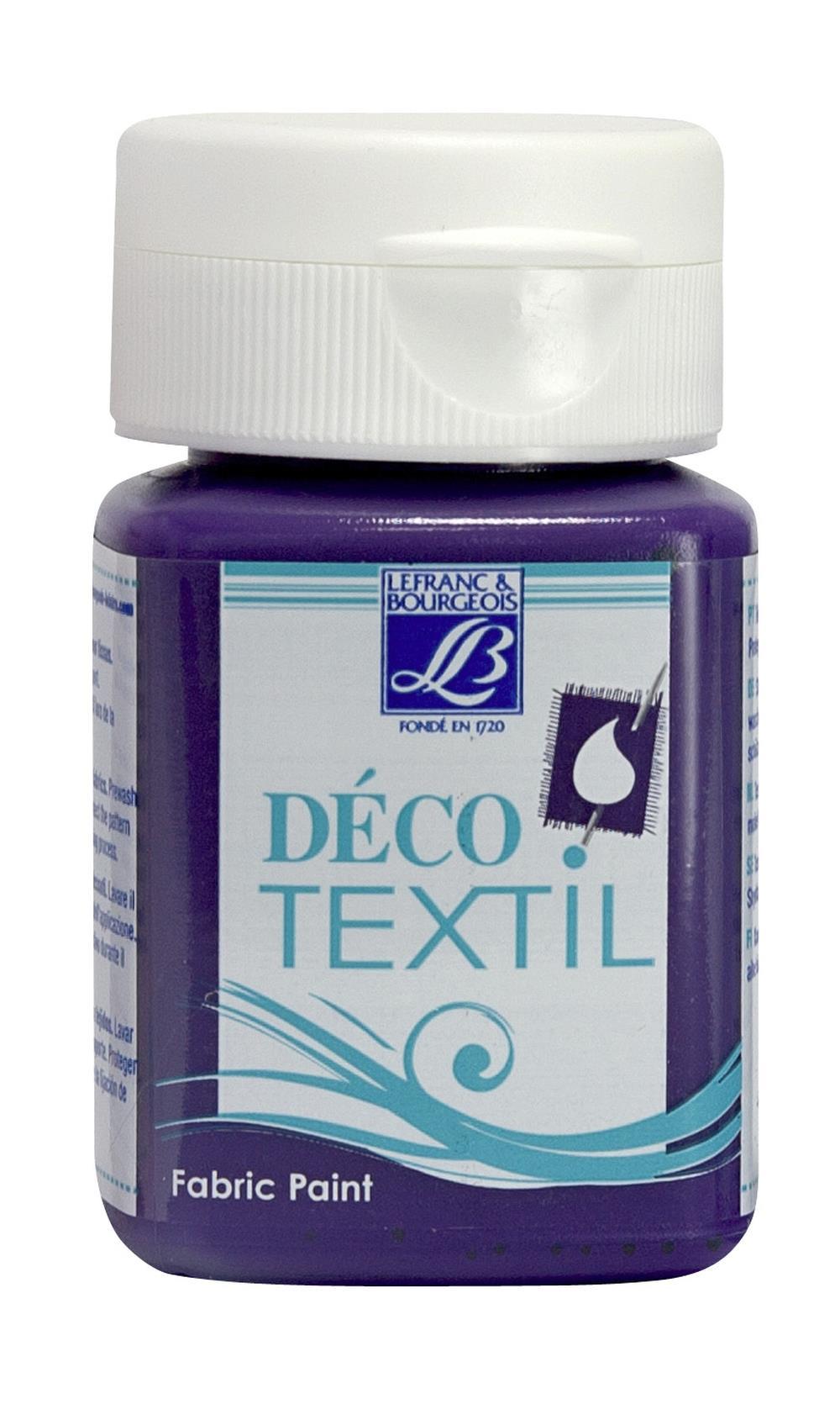 Tygfärg L&B Deco Textil 50ml  Bilberry - nature 643 (4F) Utgår