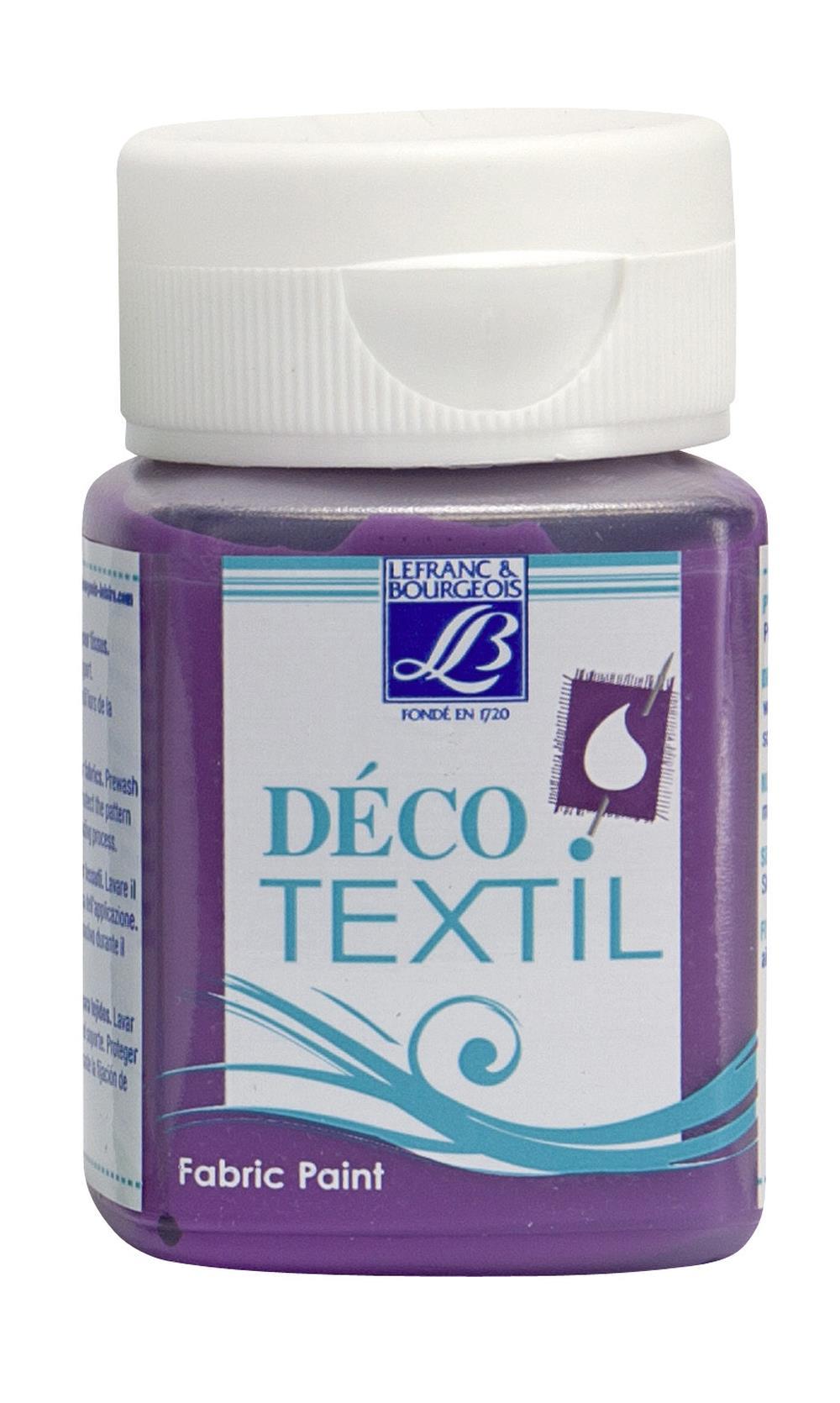 Tygfärg L&B Deco Textil 50ml  Lilac - warm 660 (4F) Utgår