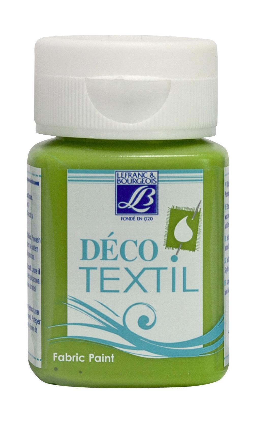 Tygfärg L&B Deco Textil 50ml  Chlorophyll - intensive 571 (4F) Utgår