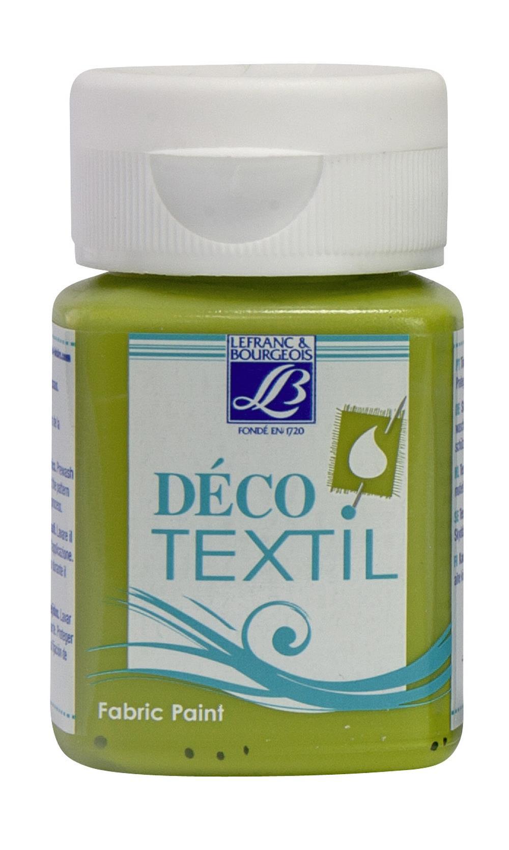 Tygfärg L&B Deco Textil 50ml  Bronze green - warm 886 (4F) Utgår