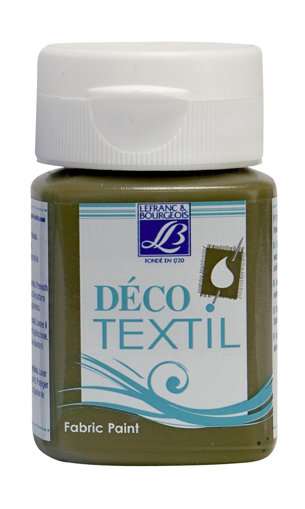 Tygfärg L&B Deco Textil 50ml  Algae - warm 737 (4F) Utgår