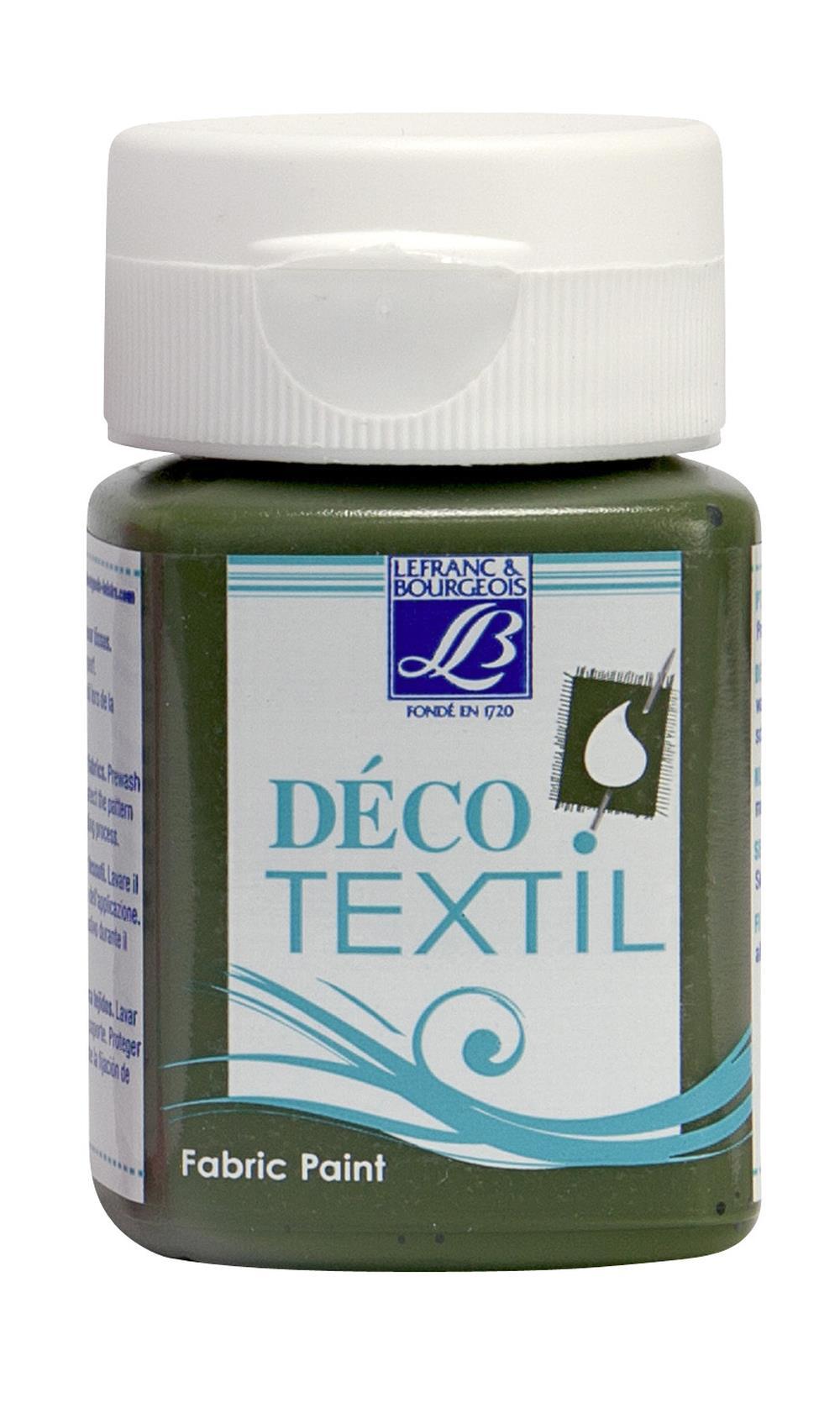 Tygfärg L&B Deco Textil 50ml  Fern - nature 572 (4F) Utgår