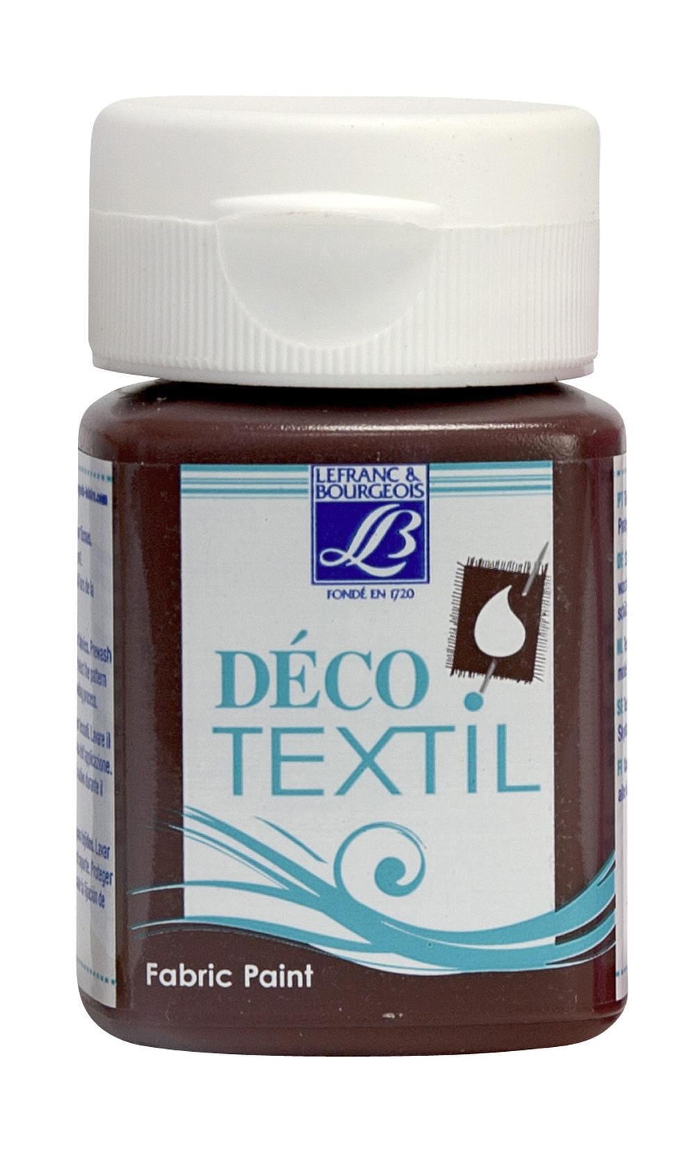 Tygfärg L&B Deco Textil 50ml  Chocolate - warm 116 (4F) utgått