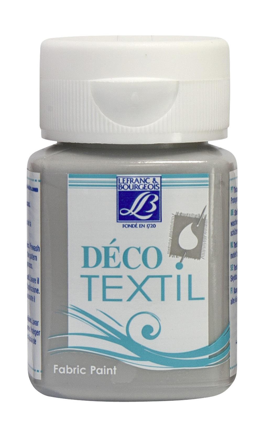Tygfärg L&B Deco Textil 50ml  Stone grey - nature 262 (4F) Utgår
