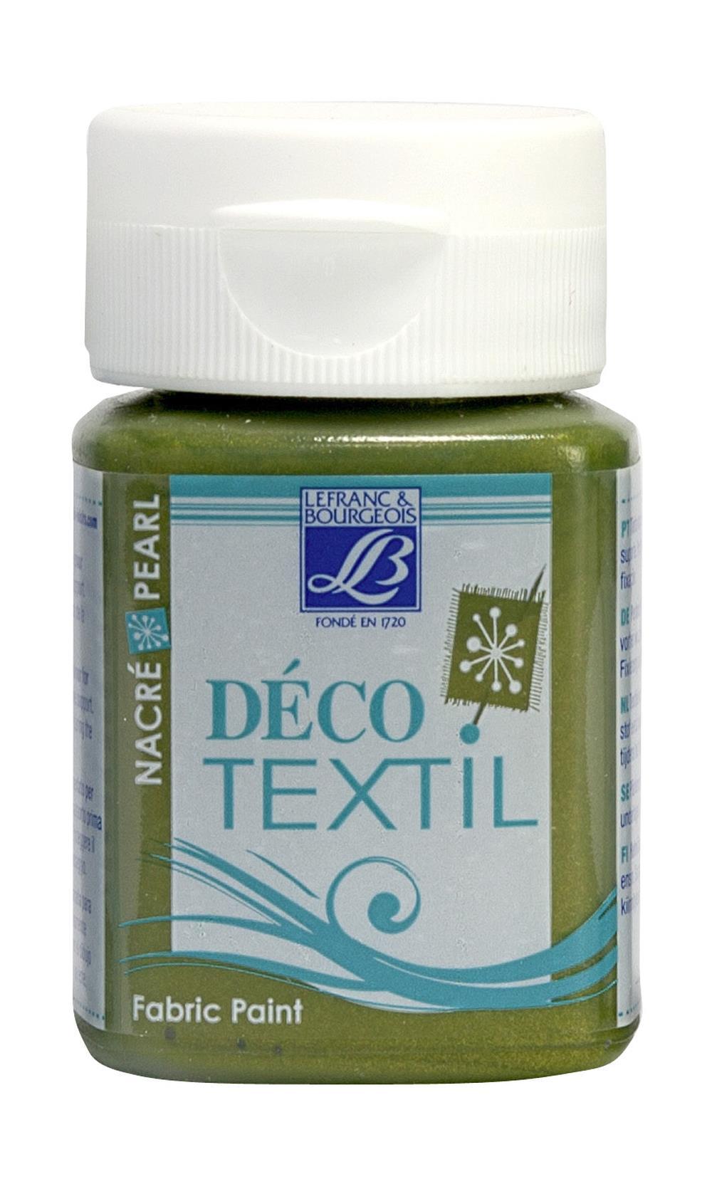 Tygfärg L&B Deco Textil 50ml  Pearl bronze - effekt 748 (4F) utgår