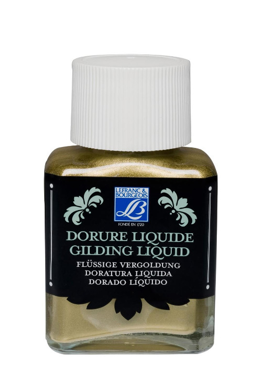 Förgyllning L&B Gilding Liquid Rich Gold 75ml