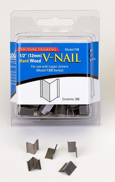 Inramning Logan 12 mm V-nail for hard wood F48 200-p