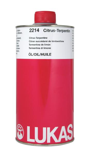 Oljemedium Lukas  Citrus Terpentinersättning 1000ml