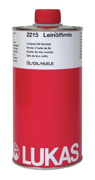 Oljemedium Lukas  Linoljefernissa, kokt, 1000ml