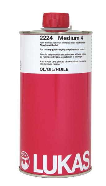 Oljemedium Lukas  Alkyd Oil Medium No4 1000ml