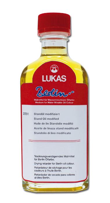 Oljemedium Lukas  Berlin Standolja, 125ml (3F)