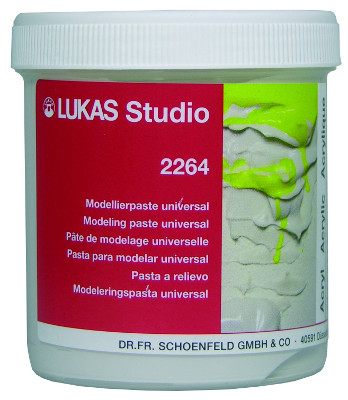 Akrylmedium Lukas Studio Modelling Paste, 250ml