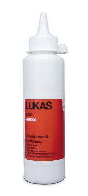 Akrylmedium Lukas Gesso White 250ml